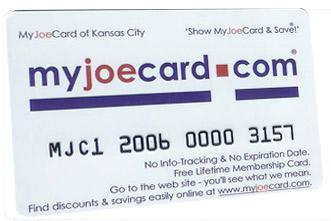 The New MyJoeCard for St. Louis - Best Consumer Value in the St. Louis area!
